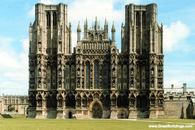 Wells Cathedral · Wells, England, United Kingdom