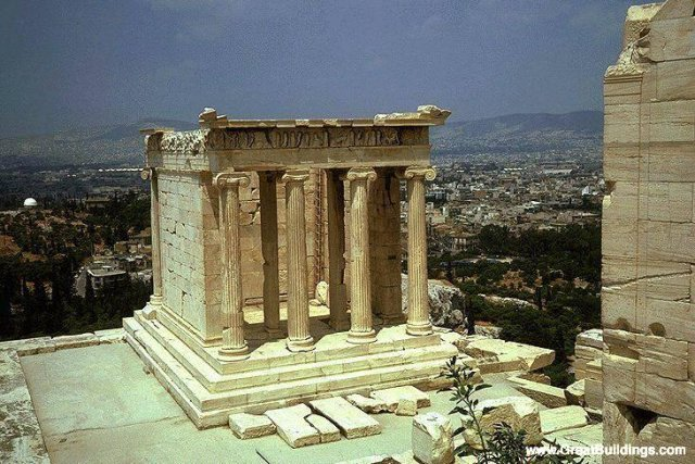 Temple of Athena Nike · Athens, Greece