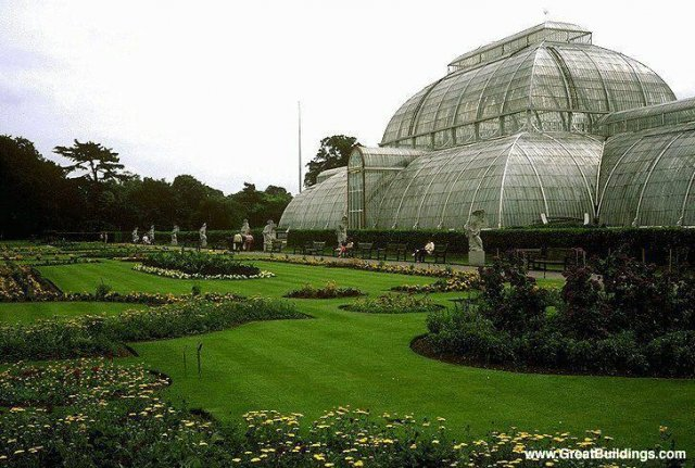 Palm House at Kew Gardens · London, England