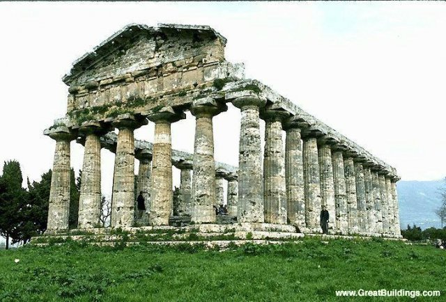 Temples of Paestum · Paestum, near Naples, Ital
