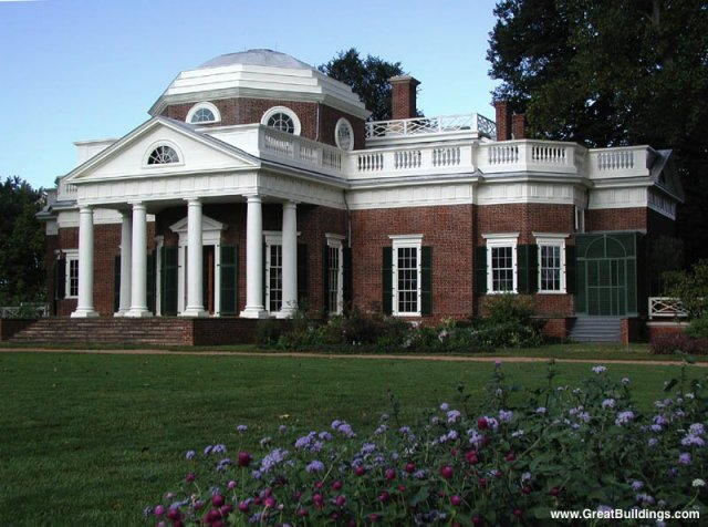 Monticello · Charlottesville, Virginia